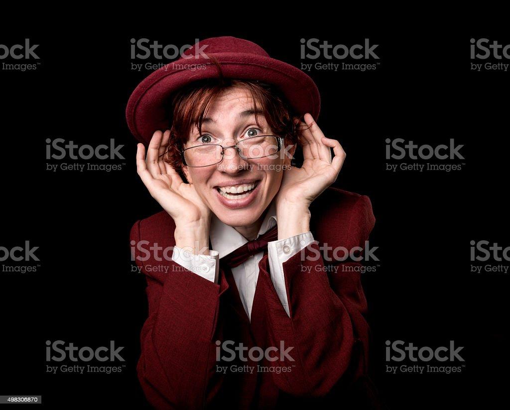 Deaf adder stock photo