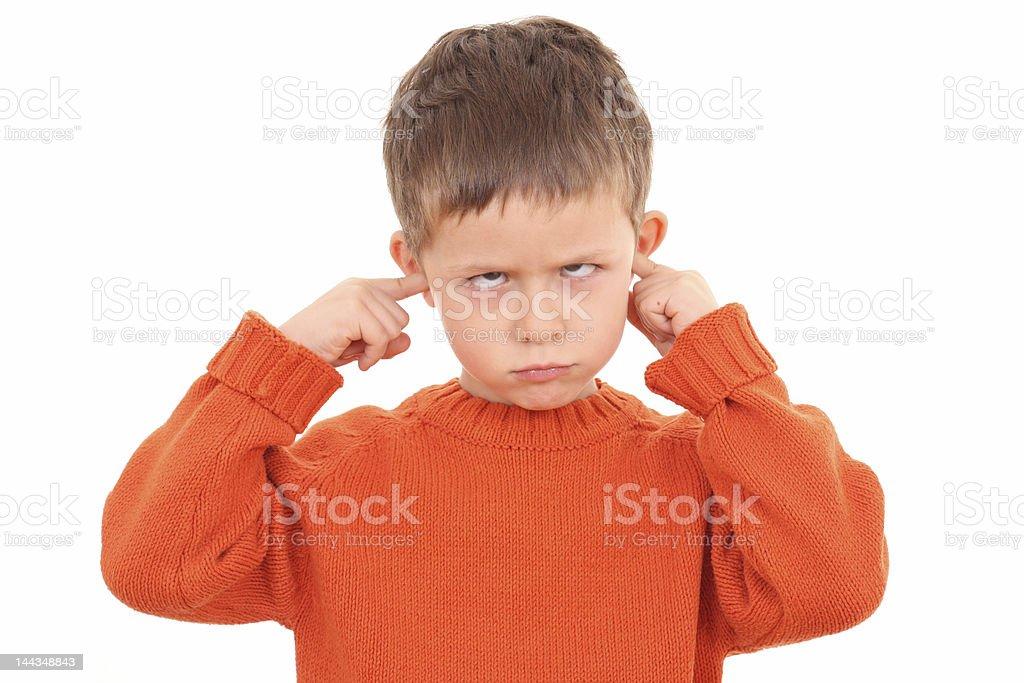 deaf stock photo