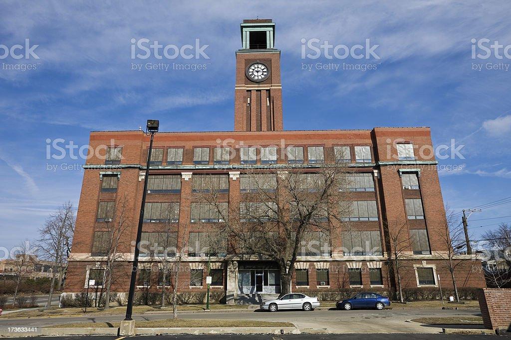 Deagan Building Chicago stock photo