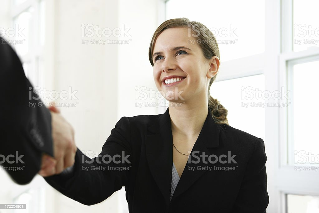 Deal done royalty-free stock photo