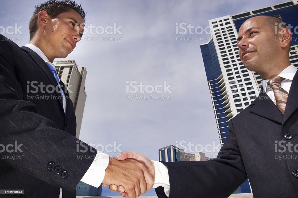 Deal royalty-free stock photo