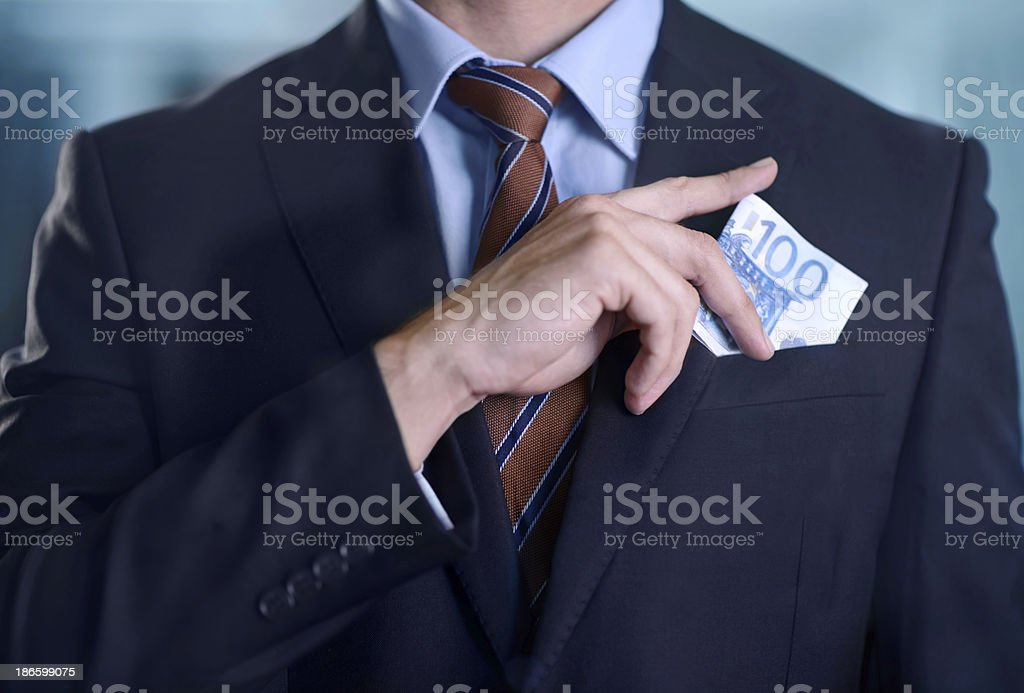 Dealing in the illegal stock photo