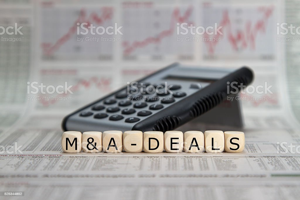 M&A Deals stock photo