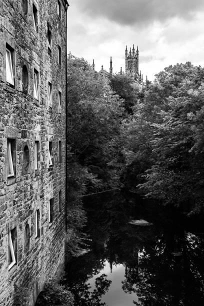 Dean Village en Edimburgo - foto de stock
