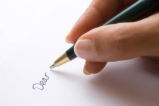 Dear... stock photo