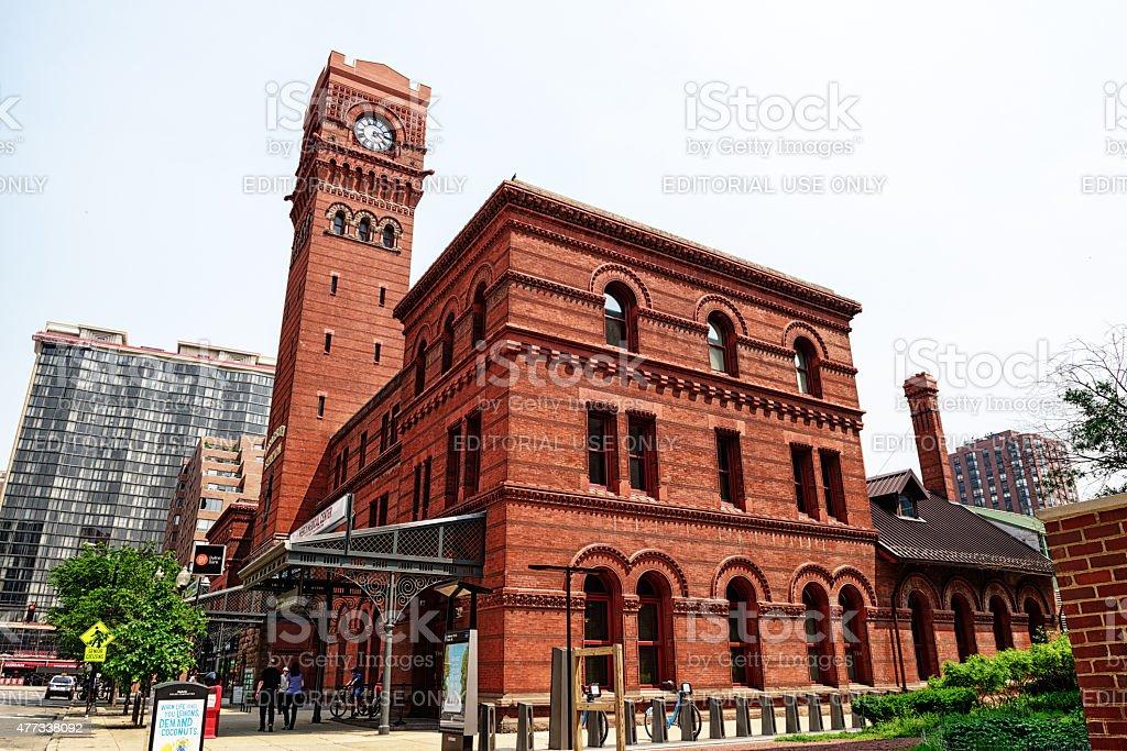 Gare de Dearborn dans le Loop, à Chicago - Photo