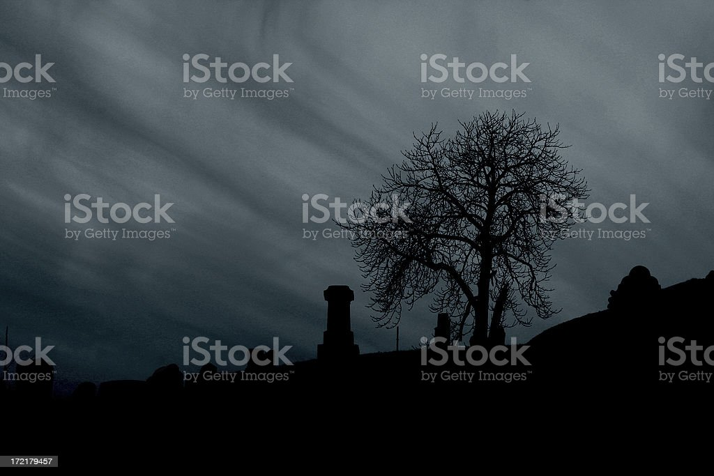 Death All Around royalty-free stock photo