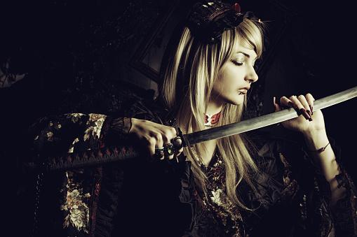 istock Death blade 518144794