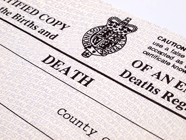 Royalty Free Death Certificate Pictures, Images and Stock Photos ...