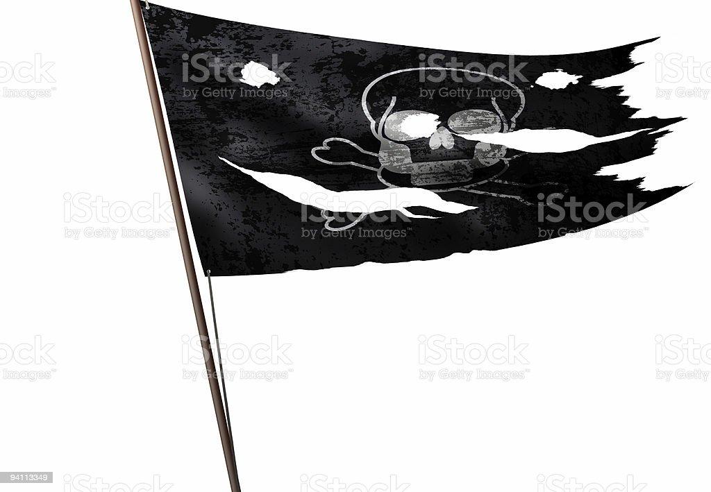 death flag stock photo