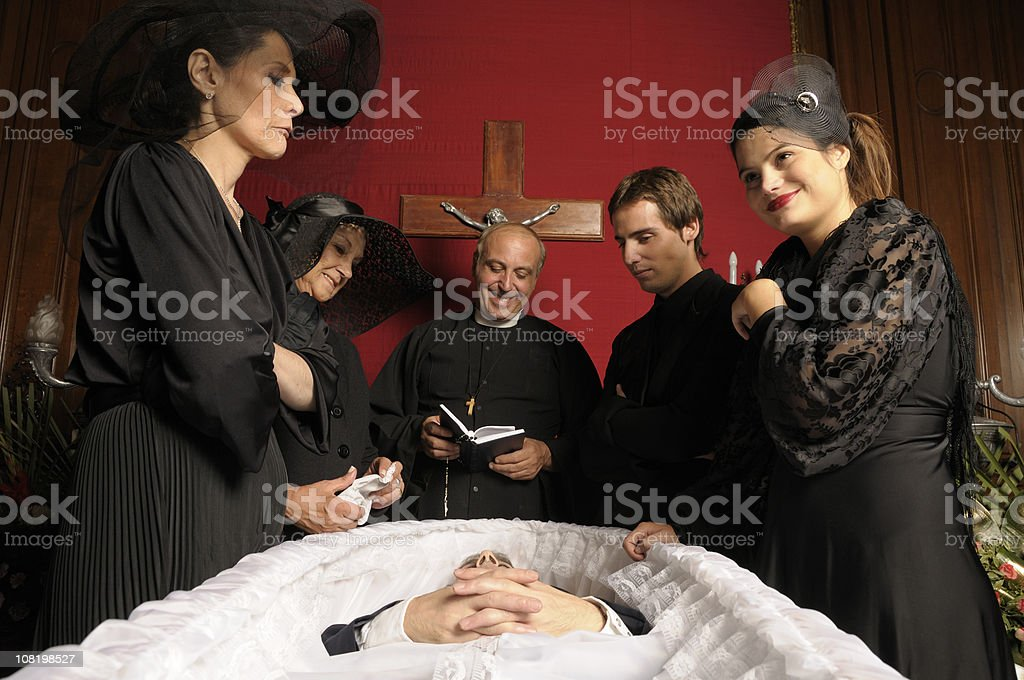 Death of Villain royalty-free stock photo