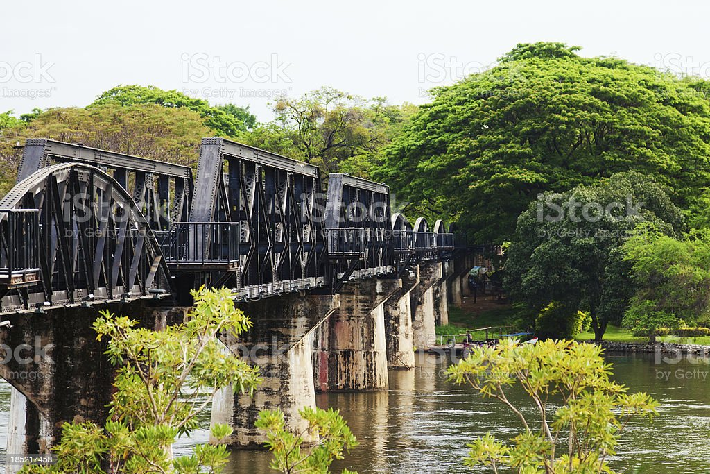 Death Railway, Thailand royalty-free stock photo