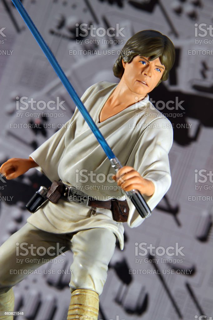 Death Star Fighter stock photo