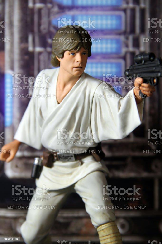 Death Star Rescue stock photo