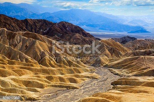 istock Death Valey National Park - Zabriskie Point 525017352