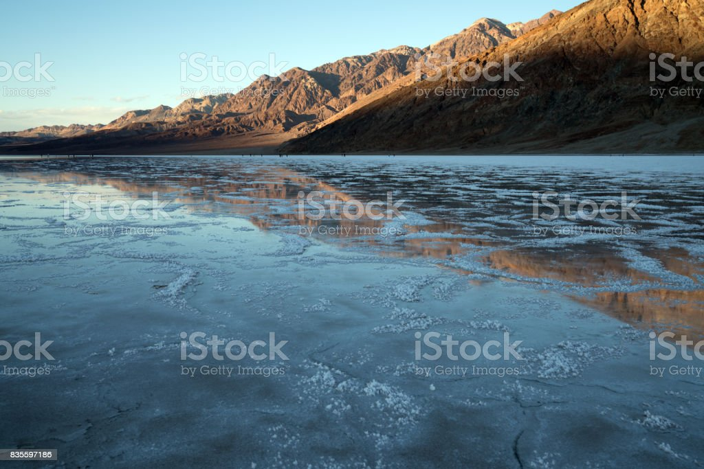 Death Valley, 2017 stock photo