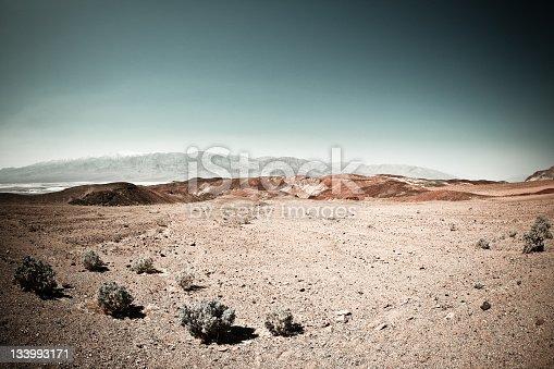 istock Death Valley Arid Landscape in California 133993171