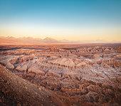 Death Valley at Sunset - Atacama Desert, Chile