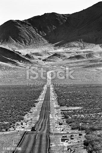 California route 190 in Death Valley California