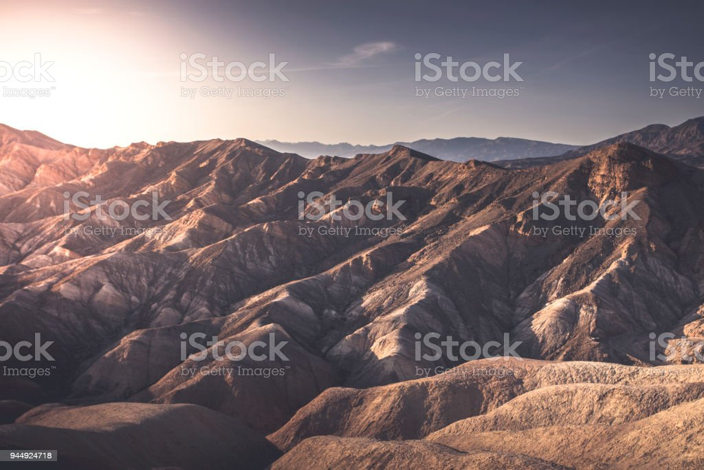 Death Valley - California - foto de stock