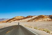 Death Valley Highway, Mojave Desert, California, USA