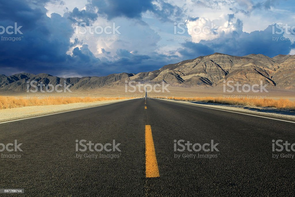 Death Valley in Nevadia royalty-free stock photo