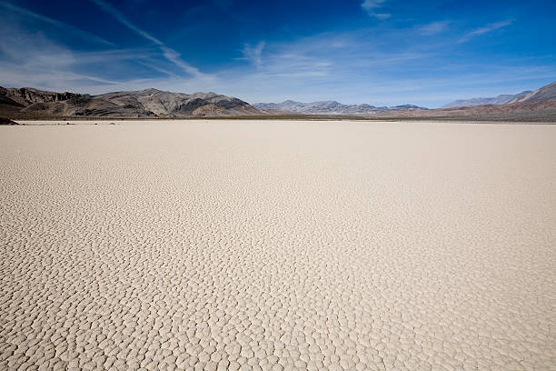 Death Valley Lakebed  lake bed stock pictures, royalty-free photos & images
