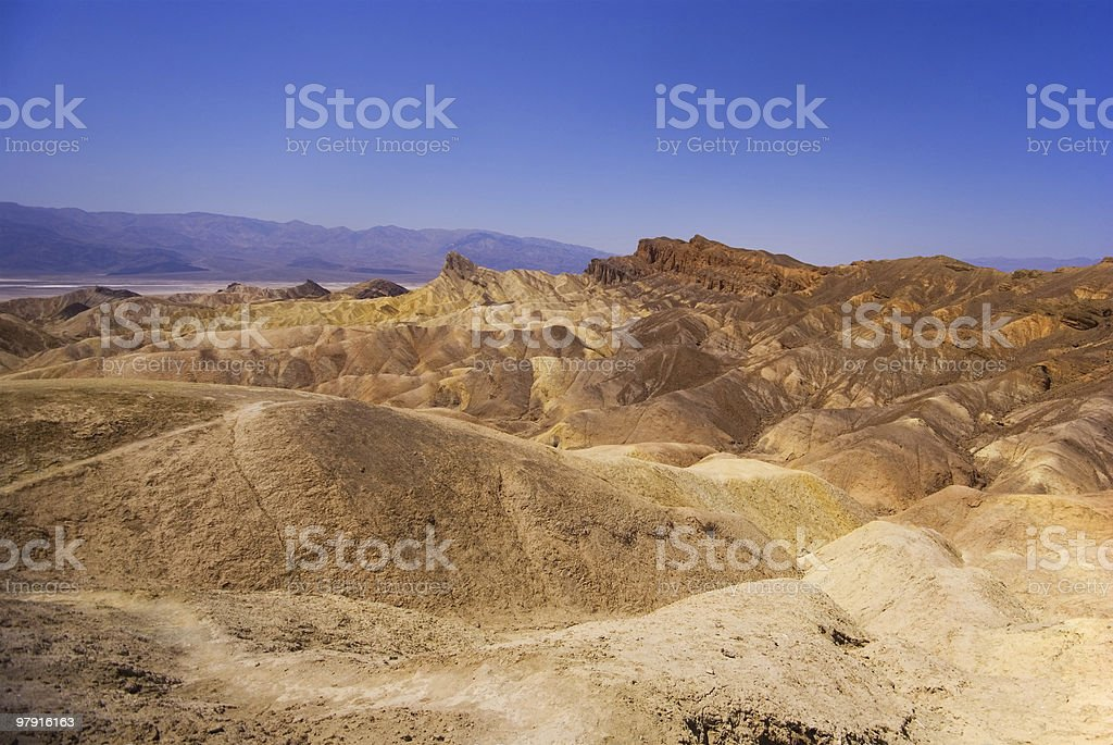 Death Valley Mountains royalty-free stock photo