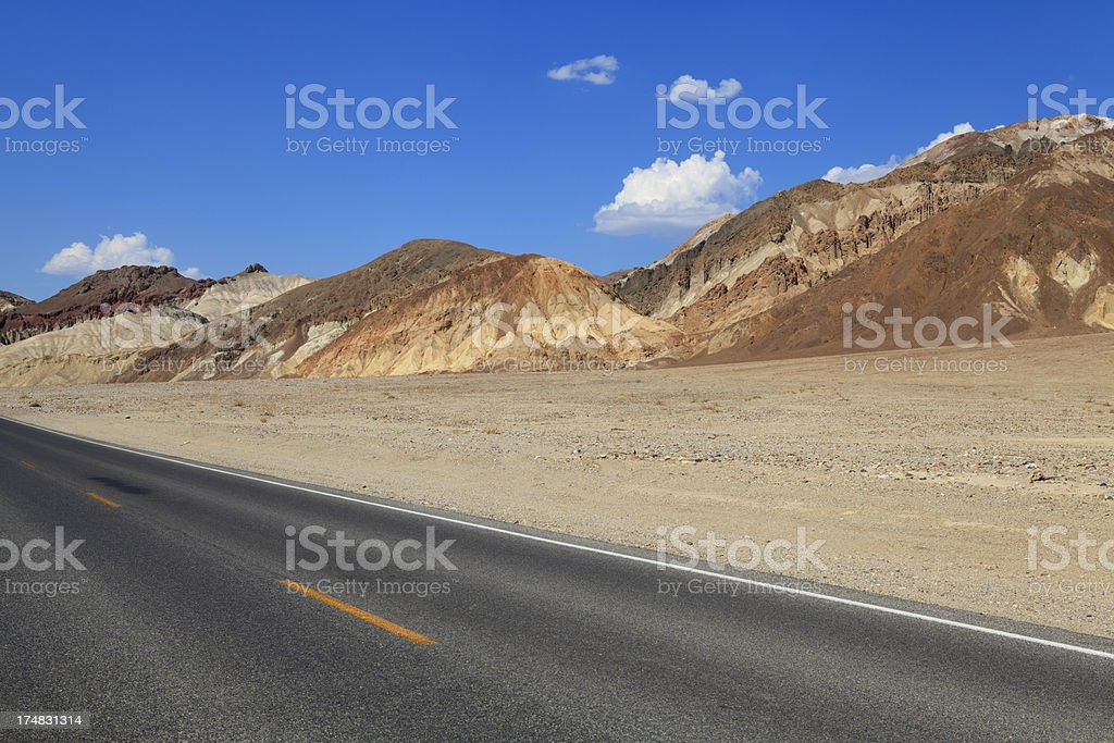 Death Valley national park, California, USA royalty-free stock photo