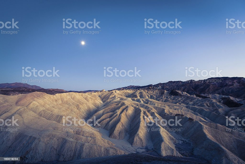 Death Valley national park landscape, California, USA stock photo