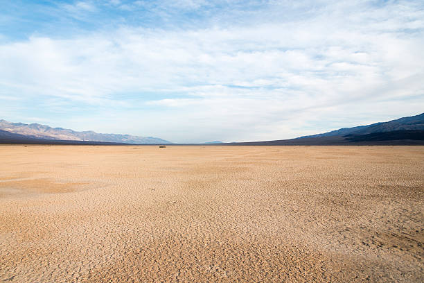 Death Valley National Park Death Valley is a desert valley located in Eastern California. It is the lowest, driest, and hottest area in North America. lake bed stock pictures, royalty-free photos & images