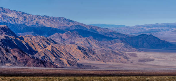 death valley national park scenery stock photo