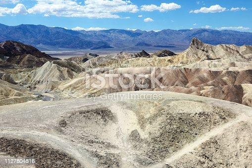 istock Death Valley National Park - Zabriskie Point 1127804816