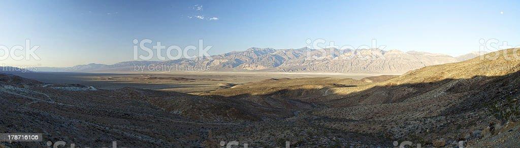 Death Valley Panorama, California royalty-free stock photo