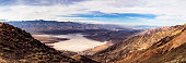 Death Valley panoramic view