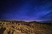 Desert, Public Park, Rock - Object, Sunset, California, stars