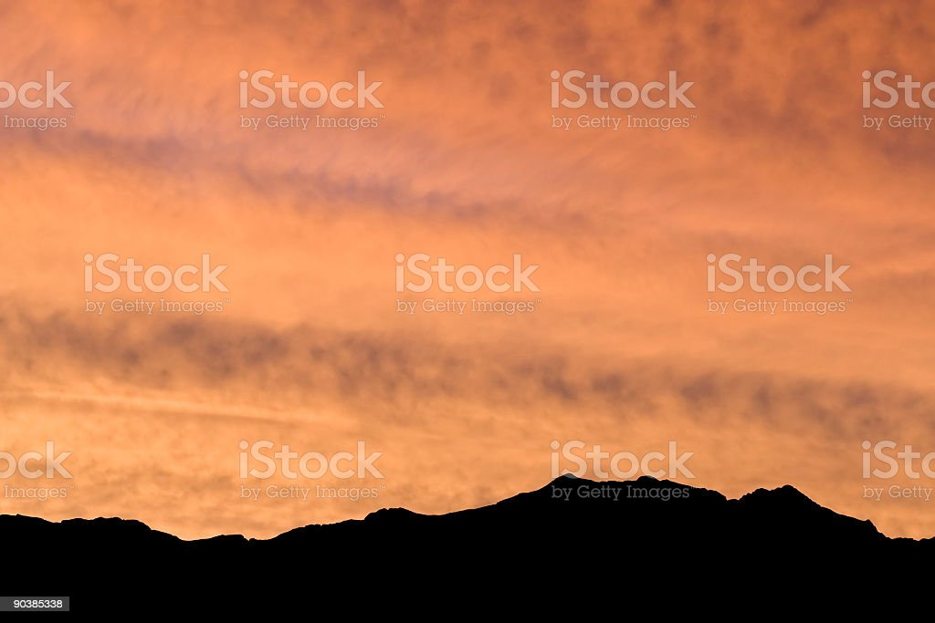 Death Valley Sunrise royalty-free stock photo