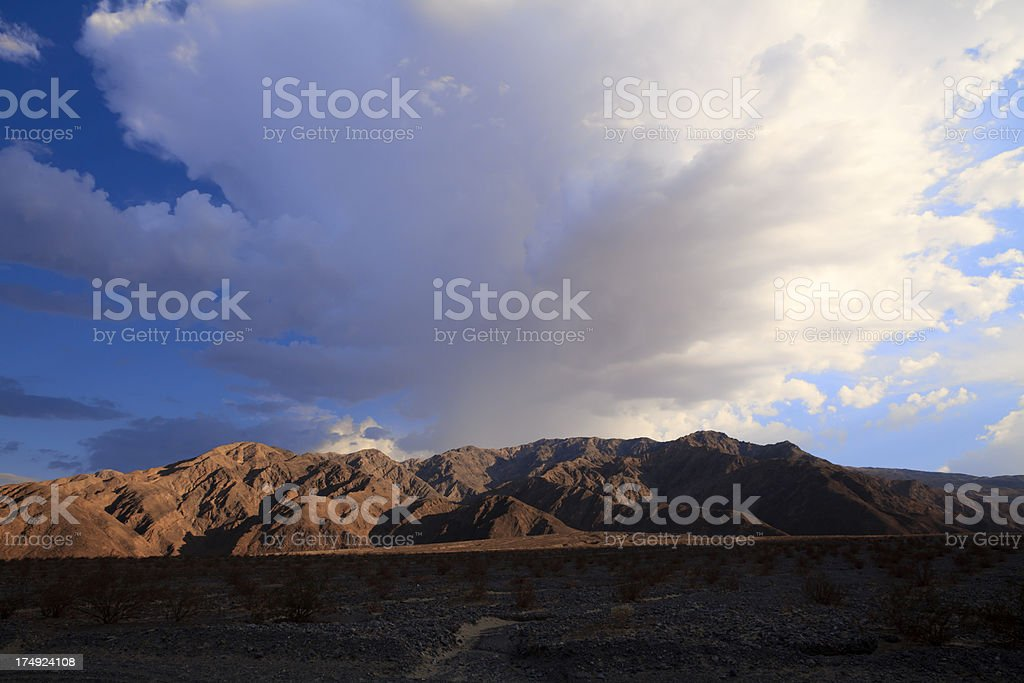 Death Valley sunset royalty-free stock photo