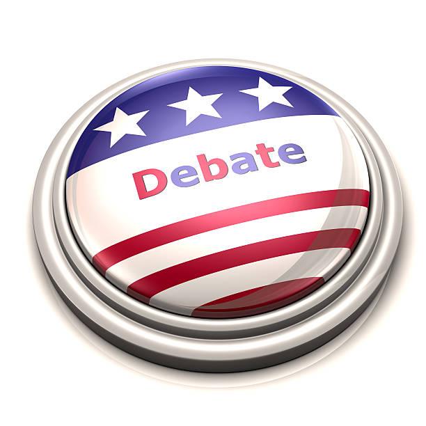 дискуссии» - presidential debate стоковые фото и изображения