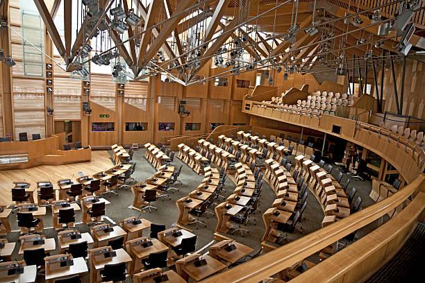 Debating Chamber of the Scottish Parliament, Edinburgh