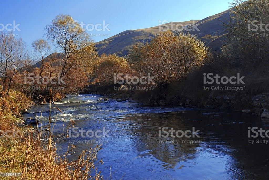 Debed River Armenia royalty-free stock photo