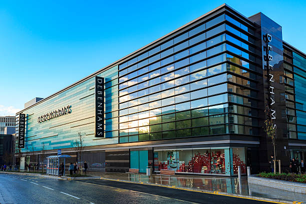 Debenhams store in the Broadway shopping centre, Bradford stock photo