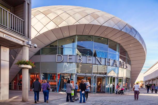 Debenhomes, Bury St Edmunds, UK stock photo