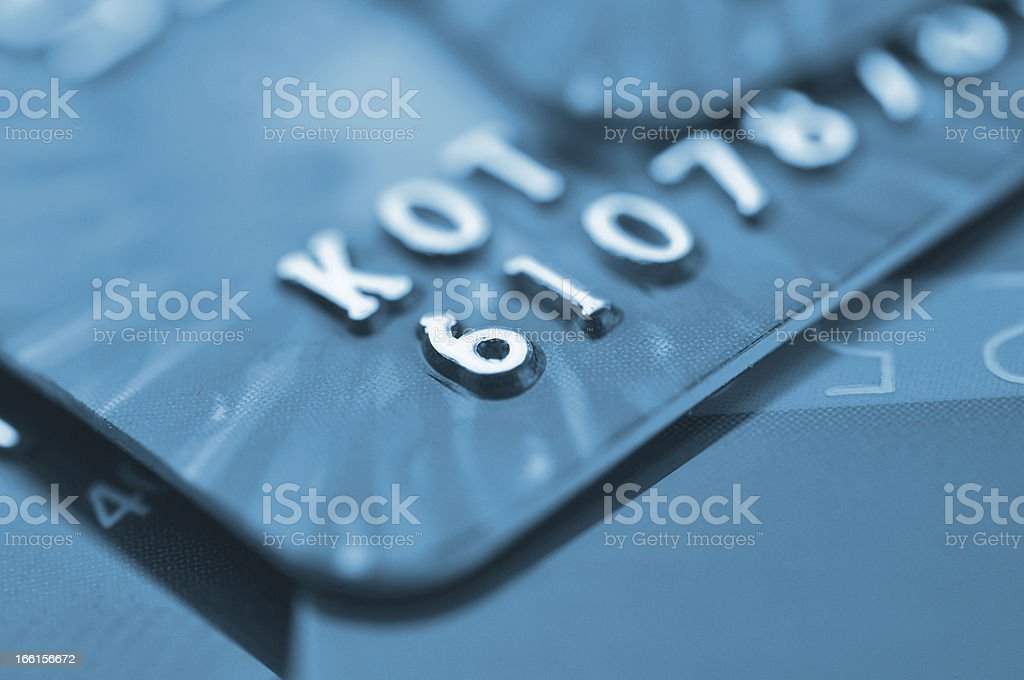 Debit cards. stock photo