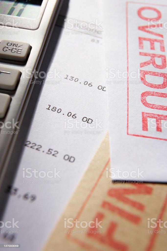 Debt concept royalty-free stock photo
