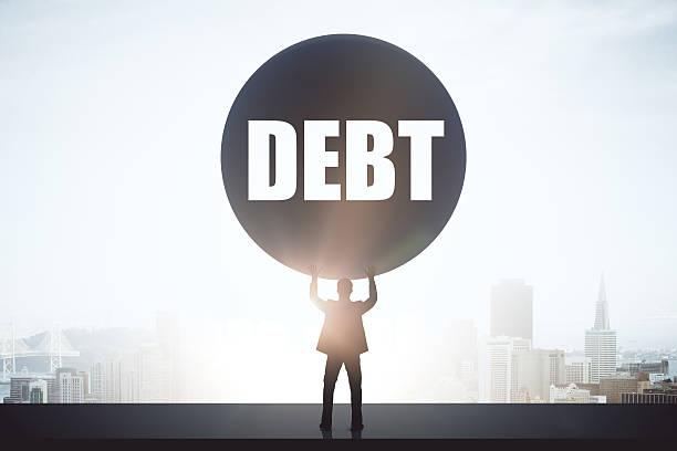 Schulden Konzept – Foto