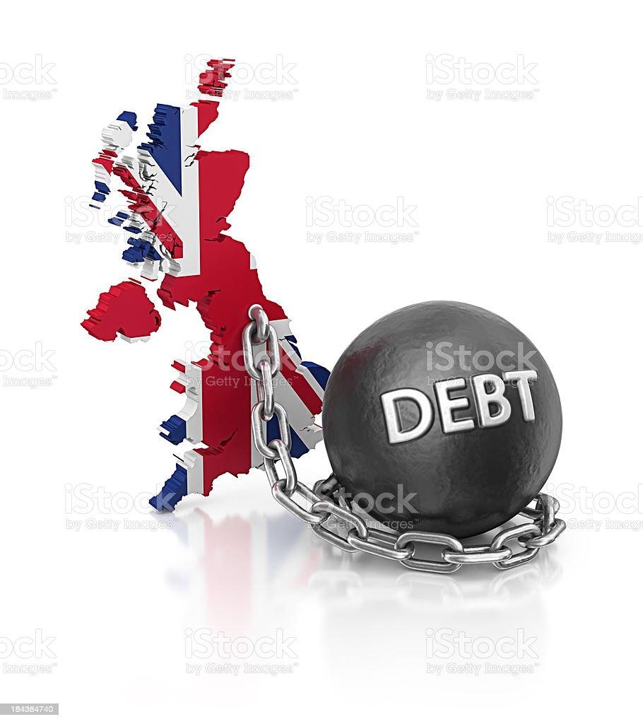 debt england royalty-free stock photo