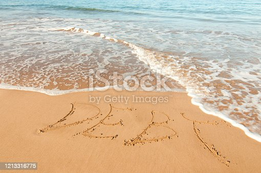 Debt written in the sand.