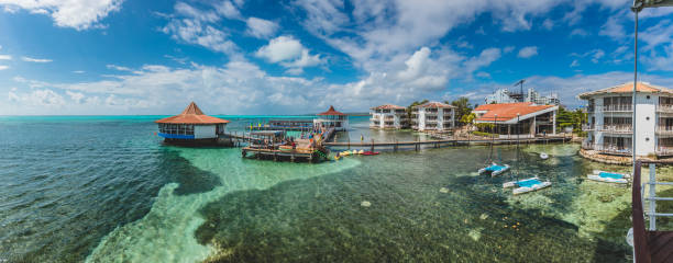 Decameron Aquarium All-Inclusive Resort Panorama during a Sunny Day stock photo