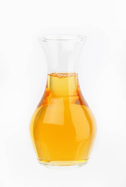 Jarra de jugo de manzana - foto de stock